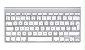 Apple wireless keyboard £38.40 @ Jigsaw24