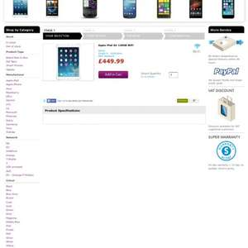 iPad air 128gb £449 @ smartfonestore