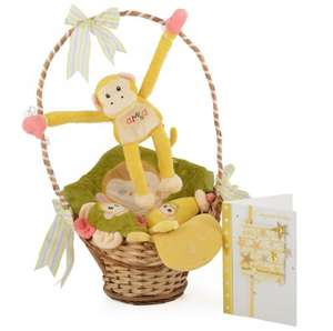 Baby's Bamba Chatterbox Gift Basket [5 plush toys + easy to read signing instruction booklet] £15.98 delivered @ Baby City (Was £29.99)