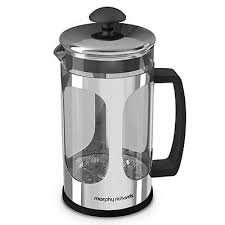 Morphy Richards Cafetiere 1L / 8 cup in chrome only £2.50 @ Home bargains