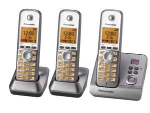 Panasonic KX-TG2723EB Triple DECT Cordless Telephones Set with Answer Machine £30 delivered Amazon Uk