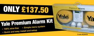 Yale Premium Alarm Kit @ Ironmongery Direct - £132