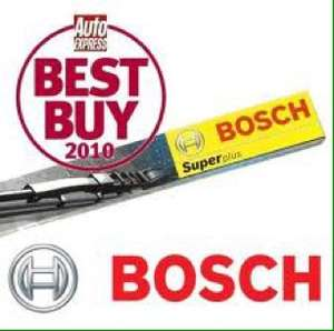 Bosch windscreen wipers from £2 @ CarParts4Less