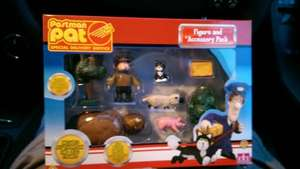 Postman Pat figures and Acessory pack. Tesco 1p