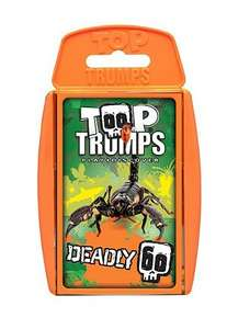 Deadly 60 Top Trumps Card Game. £2.79 delivered from the BBC Shop (using code)