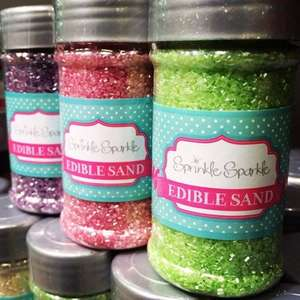 Sprinkle Sparkle edible cake decorations 59p Home Bargains