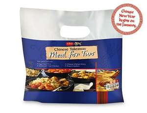 Chinese Meal for 2 per bag £3.99 @ ALDI