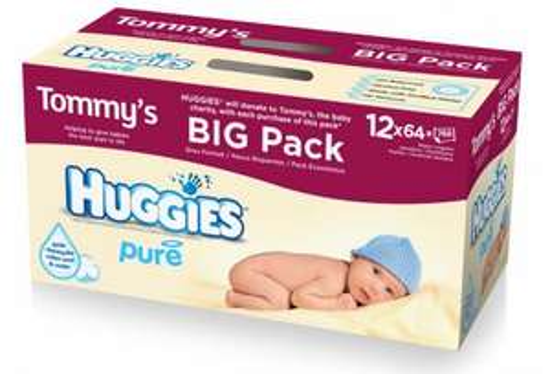 Huggies Pure Wipes 12pack @ ASDA £9...