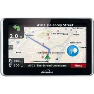 "BINATONE DVR505 5"" Video Recording SAT NAV £49.99 @  The Hut"