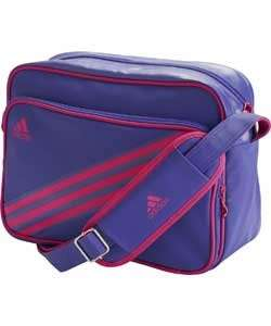 Adidas Enamel Messenger Bag - Pink and Purple £8.99 @ Argos