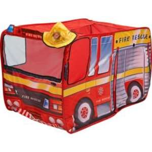 Chad Valley Fire Engine Children's Play Tent - Argos - £7.99