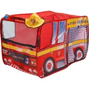 Chad Valley Fire Engine Children's Play Tent - Argos - £7.99