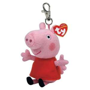 George or Peppa Pig keychain. £1 @ Tesco Direct