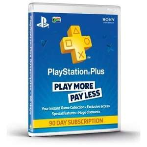 PlayStation Plus 90 Day Card £5 in morrisons