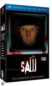 SAW 1-7 Box Set - UNRATED LIMITED EDITION - The Complete Collection[Blu-Ray] [import] £24.99 @ Amazon
