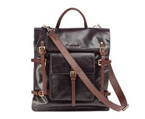 Luxury Baby leather changing bags reduced from £269 to £75 @ Sugarjack