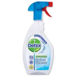 Dettol Anti-Bacterial Surface Cleanser Spray (500ml) £1 @Morrisons