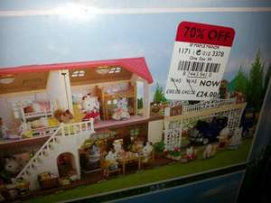 Sylvanian families Maple Manor and Carport £24.00 @ Debenhams instore