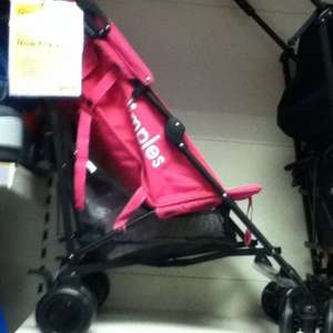 Dimples Pitch Stroller Pushchsiar reduced to £19.99 from 34.99 instore Smyths