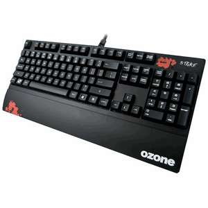 Ozone Strike Mechanical Kboard black cherry switch  £44.99 @ game online