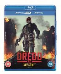 Dredd [Blu-Ray 3D + Blu-Ray] £5.00 Delivered @Sainsburys Entertainment