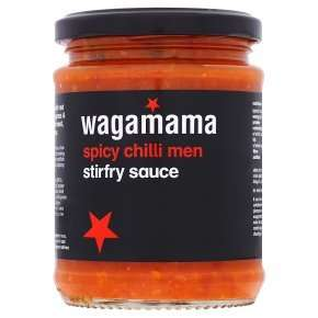 Wagamama stirfry/marinade sauces 1/3 OFF now £1.50 @ Waitrose (Spicy Chilli Men 250g, Sweet Teriyaki 150g, Sticky Housin 150g)