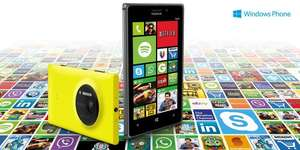 £20 worth of apps for free when you buy a nokia lumia