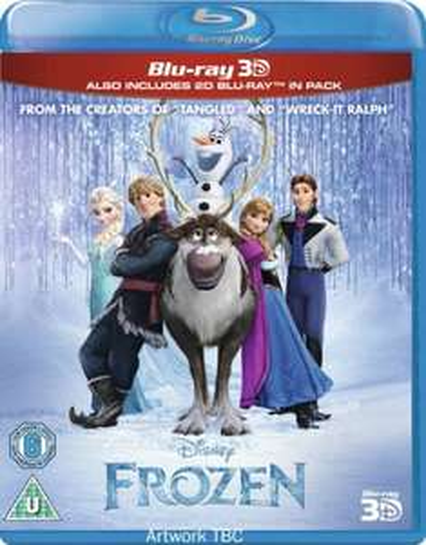 Frozen - 3D Blu-Ray for £18.00 @ Asda Direct & Amazon (2D £15 / DVD £10) - Preorder