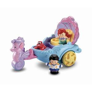 Fisher-Price Little People Disney Cinderella's Coach and ariel carriage £12.50 @ sainsburys instore