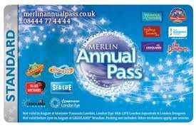 MERLIN ANNUAL FAMILY PASS £79PP **JAN SALE PRICE*