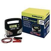 Sakura car battery chargers from £6.86 at Tesco Direct & heavy duty jump leads from £4.41 & Tow Rope £2.44