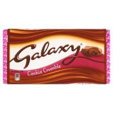 Galaxy chocolate big bar (cookie crumble, nut crunch and honeycomb crisps) 2 for £1.00 @ FarmFoods