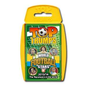 Top Trumps World Football Stars 2013/14 @ Amazon from Plusdvd only £4.48
