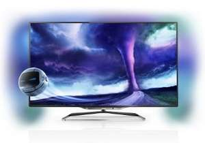 Philips 55PFL8008S 55'' 3D MAX Full HD Smart LED Ambilight TV plus Claim Free 5 Year Warranty Was £2499.99, save £800.00 - £1699.99 @ electricshop.com