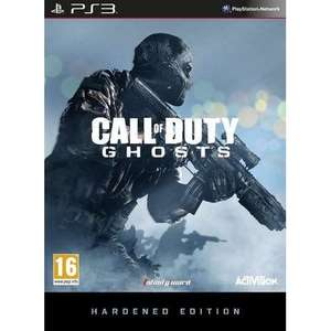 PRICE DROPPED 04/FEB: NOW £32.98 (PS3) / £33.83 (XBOX360) -- Call of Duty Ghosts Hardened Edition (includes Season Pass) @Amazon