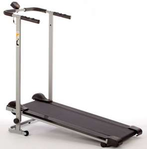 V-Fit MTT1 Manual Folding Treadmill For £100.00 @ Asda Direct