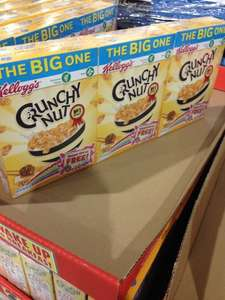 Kellogg's Crunchy Nut Cereal (750g) The Big One Pack of 3 £4.69 @ Costco