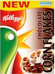 Kelloggs chocolate cornflakes 375g £1.24 @ Tesco instore