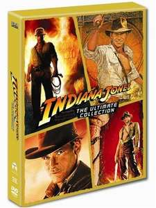 Indiana Jones - The Complete Collection on DVD £14.00 @ Tesco Entertainment