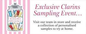 Free Clarins Samples