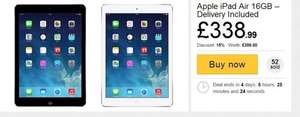 IPAD AIR 16GB SPACE GREY £305.09 @ HUSH HUSH
