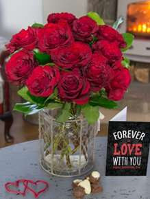 15% off all orders with 15% Cashback & Free Valentines Card & Potentially Free Chocolates @ iflorist