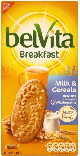 Belvita Breakfast Biscuits - Milk & Cereal, plus other varieties - £1.29 at Morrisons