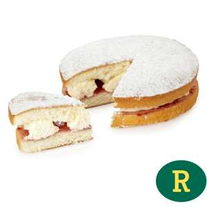 Fresh Cream Sponge (Assembled Instore) £1.00 From £1.55 @ Morrisons