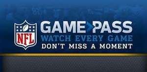 NFL Game Pass (Off Season) £29.99 @ Gamepass NFL