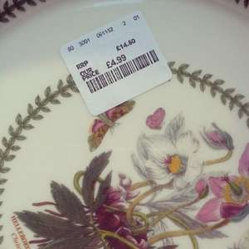 Portmeirion botanic garden dining set £4.90 @ TK Maxx