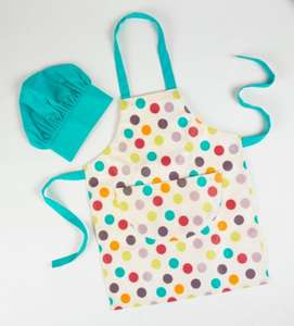 ASDA Kids Apron & Hat Set for £2.00 @ ASDA Direct