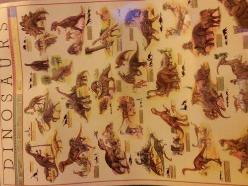 A2 laminated dinosaur posters @ Poundland - £1