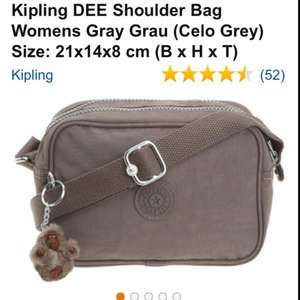 Kipling Dee Bag £13.80 to £55 @ Amazon