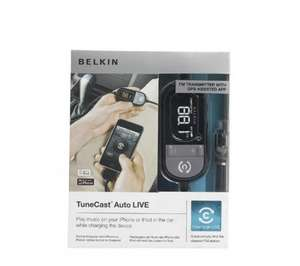 £9.91 for BELKIN TuneCast Auto Live FM Transmitter - Black @ Currys Click and collect (over 75% off original price!!)